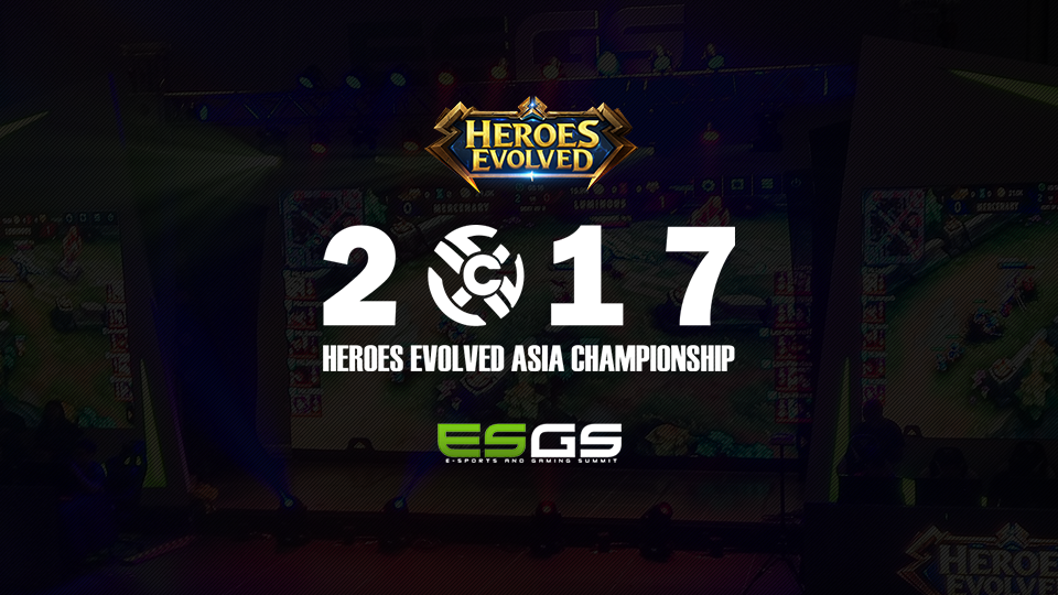 9 Heroes Evolved at ESGS 2017 Banner
