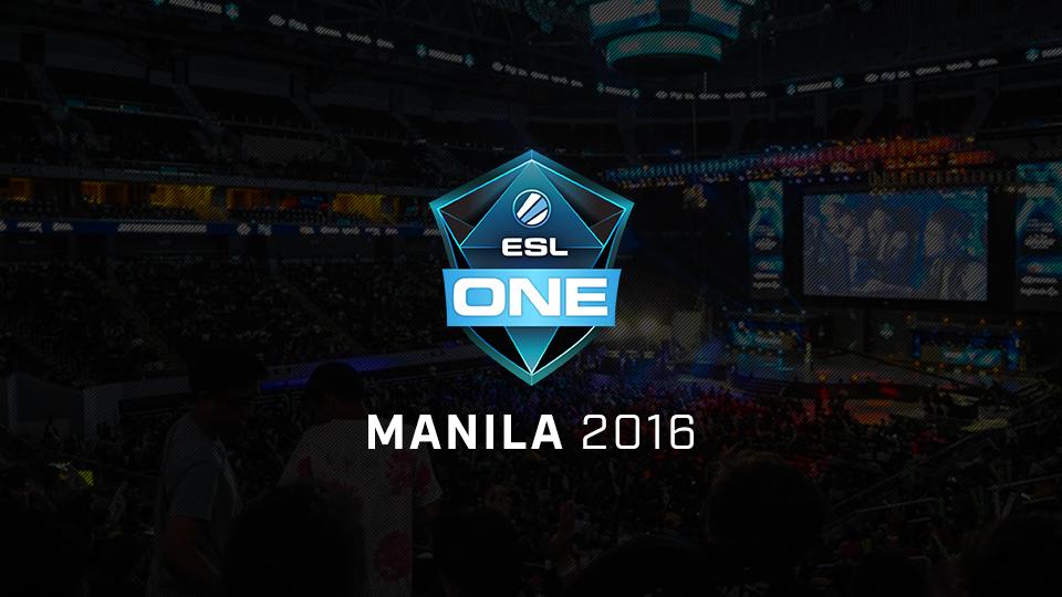 2 ESL One Manila 2016 Banner