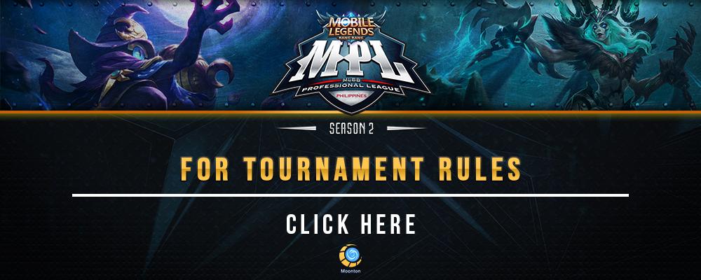 Tournament Rules - MPL-PH Season 2 - MET