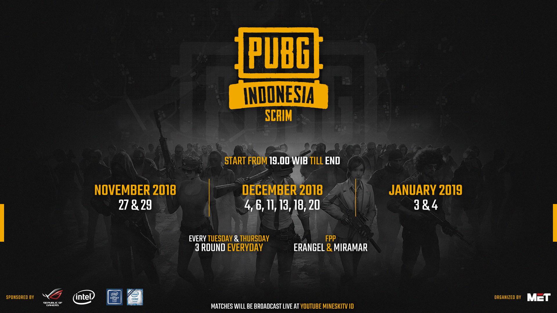 PUBG Indonesia Scrim - MET